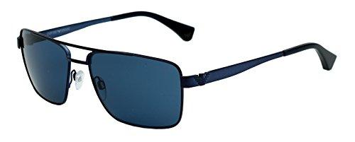 Emporio Armani Square Sunglasses (Blue) (Ea 2019 3018/80) image