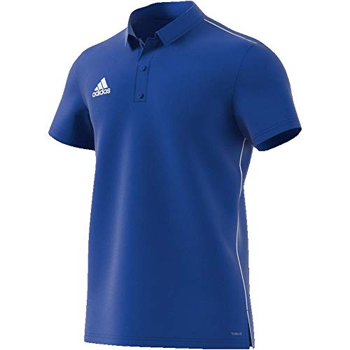 adidas Herren CORE18 Polo Shirt, Bold Blue/White, 3XL - Polo Blau Für Männer
