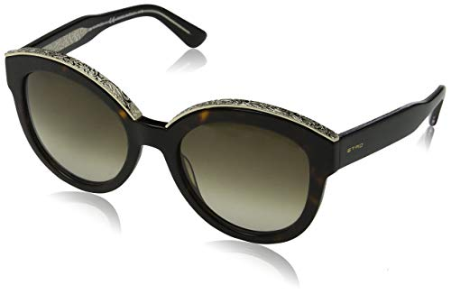 Etro et604s 215 55 occhiali da sole, marrone (dark havana), donna