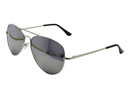 Top Gun Spiegel Flieger verspiegelt Sonnenbrille