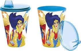 Superhero Girls- Vaso con Tapa y Sipper 430ml (STOR 87884)