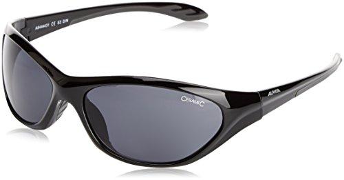 Alpina Kinder Sonnenbrille SEICO, black-grey, A8444431
