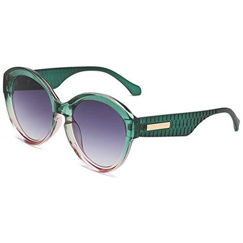 Klassische Runde Polarisierte Sonnenbrille Mode Mann Frauen unregelmäßige Form Sonnenbrille Brille Vintage Retro Style
