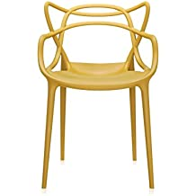 Kartell 5865 16 Masters Chaise Moutarde