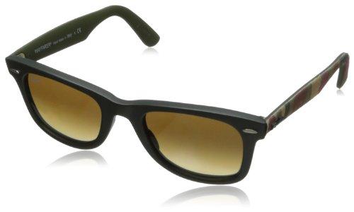 Ray Ban Unisex Sonnenbrille Wayfarer Original, Gr. Small (Herstellergröße: 50), Mehrfarbig (multi grün 606285)