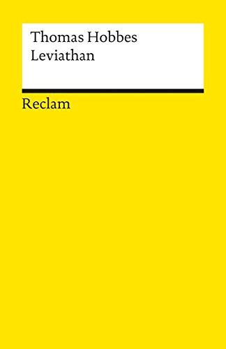 Leviathan (Reclams Universal-Bibliothek, Band 8348)