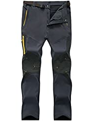 Geval Outdoor coupe-vent Softshell Polaire Pantalons neige d'homme