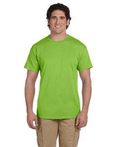Hanes TAGLESS® T-Shirt M Green - Tagless Crewneck Tee