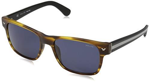 Police Herren SPL165M Sonnenbrille, Mehrfarbig, 55