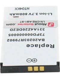 Batteria per CREATIVE NOMAD JUKEBOX ZEN XTRA, 3.7V, 800mAh,