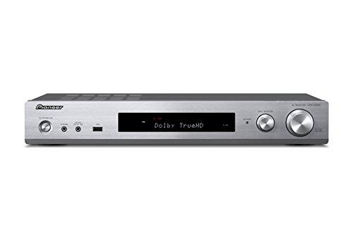 Pioneer VSX-S 520-S Slimline AV Receiver (80W pro Kanal, vielfältige Streaming Möglichkeiten, WiFi und Bluetooth, HDCP 2.2, AppControl, benutzerfreundliche Fernbedienung) - 6-kanal-verstärker Pioneer