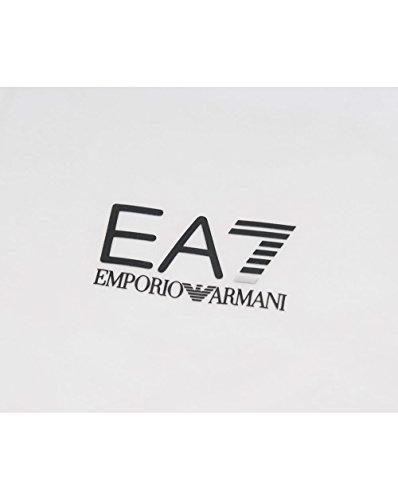 Ea7 Train Core Id Long Sleeved Polo White
