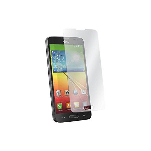 PhoneNatic 2 x Glas-Folie klar kompatibel mit LG L90 - Panzerglas für L90