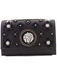 Versace Versus Mujer FBD1266FCFGCBLACK Negro Cuero Bolso De Hombro