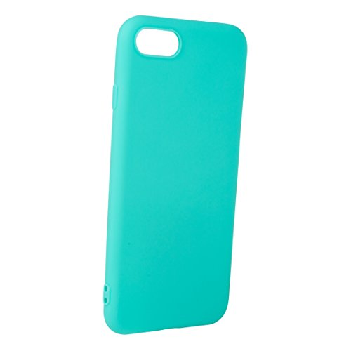 iPhone-7 / iPhone-8 Hülle Case   schwarz matt   SOFT TOUCH TPU   Perfekter Schutz   Schutzhülle Matt verschiedene Farben Apple iPhone 7 / iPhone 8 Cover - Movoja® iPhone7 / iPhone8 Schwarz Mint