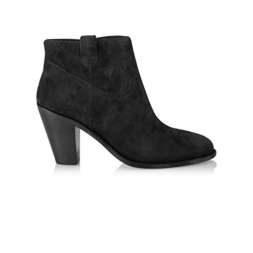 Ash - Ivana Ankle Boot, Black, 4 (37)