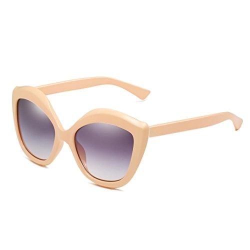 UV400 Unisex Sonnenbrille, BakeLIN Mode Pfirsich Herz Typ Brillen Blockierung UV Gläser 2018 (Einheitsgröße, C)