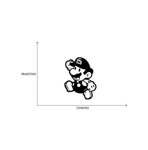 Bbeik Kreative Schalter Aufkleber Cartoon Mario Vinyl Wandaufkleber Für Kinder Toom Home Decor