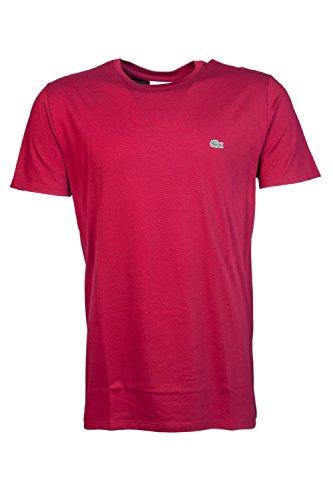 Lacoste Herren T-Shirt Bordeaux