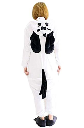 Warmes Unisex-Karnevals-Kostüm für Kinder, Einhorn Eule Zebra Giraffe Kuh, für Halloween Fest Party, als Pyjama, Tier-Kigurumi-Kostüm für Zoo-Cosplay, Einteiler - Medium - Unicorn ()