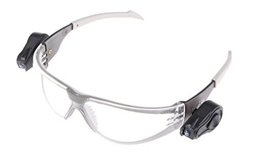 3M LED Light Gafas seguridad PC ocular incoloro recubrimiento