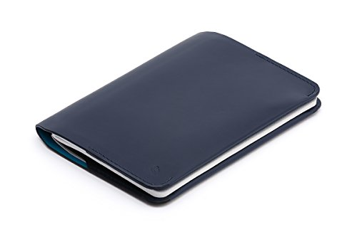 Cartera de piel Bellroy para hombre Notebook Cover Mini, Blue Steel