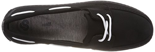 Clarks Step Maro Sand, Mocassins (Loafers) Femme Noir (Black)