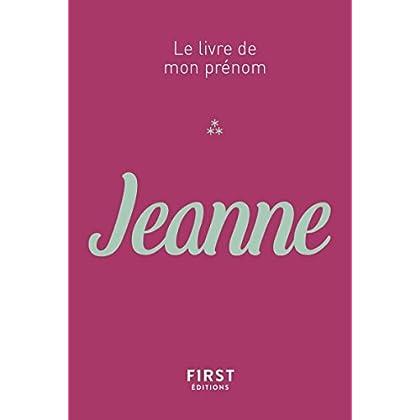 64 Le Livre de mon prénom - Jeanne