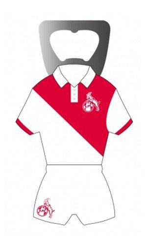 Preisvergleich Produktbild 1. FC Köln Magnet-Flaschenöffner [weiß / rot]