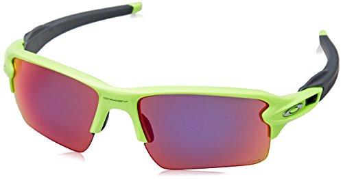 Oakley Herren Flak 2.0 XL 918871 59 Sonnenbrille, Grün (Retina Burn/Prizmroad)