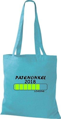Camicia In Tessuto Borsa In Cotone Patenonkel 2018 Caricamento Cielo Regalo Di Nascita