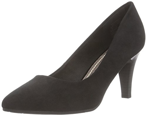 Jane Klain 224 711, Chaussures à talons - Avant du pieds couvert femme Noir - Schwarz (Black 009)