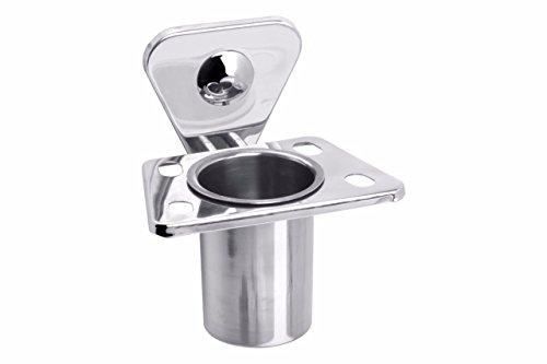Fortune™ Bathroom Tooth Brush Holder/ Tumbler Holder/ Tumbler Stand ( Stainless Steel ) Set of 1