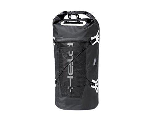 Held Roll-Bag Gepäckrolle, farbe schwarz-weiss, größe 40 Liter - Klar, Schulter Riemen