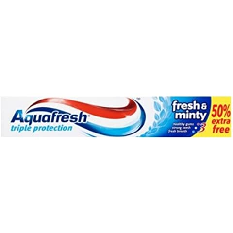 Aquafresh Fresh & Minty Dentifricio 50% gratuito - 12 x