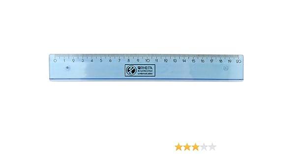 Stylex® Flex Lineal 15cm Bruchsicher biegsam