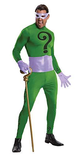 Rubie 's OFFIZIELLER The Riddler Grand Heritage Batman, Erwachsenen-Kostüm-X-Large (Riddler Kostüm Damen)