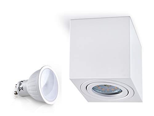 Plafoniere Led A Soffitto : Panderlights lampada da soffitto palermo plafoniera cubica con