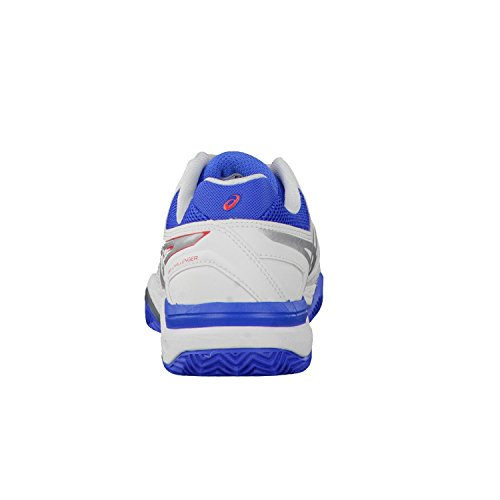 Asics Damen Gel-Challenger 11 Clay Tennisschuhe weiss / rot