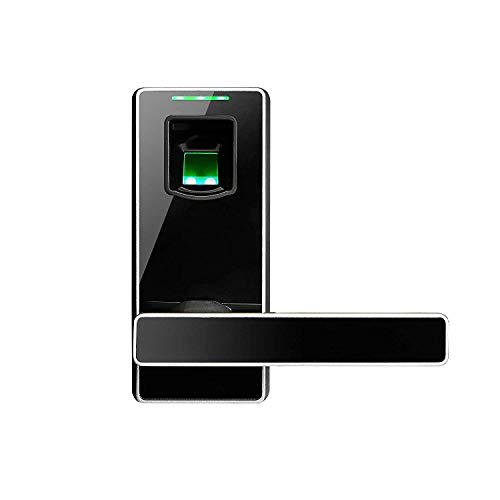ZKTeco ML10 Serratura Elettronica Biometrica con Lettore di Impronta, senza  Chiave, Porta di Sicurezza con Maniglia Intelligente per Camera,