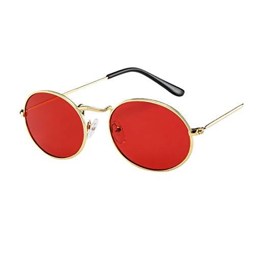 Unisex Sonnenbrille FORH Damen Herren Vintage Classic Sunglasses Katzenaugen Brille Metal Designer Pilotenbrille Eyewear Spiegel für Autofahren Outdoor Reisen Party und Freizeit (B)