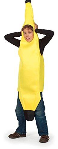 Wilbers lustiges Kinder Kostüm Banane Bananenkostüm Karneval Fasching