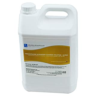 General Purpose Concentrated Ultrasonic Cleaner Solution - 5 Litre