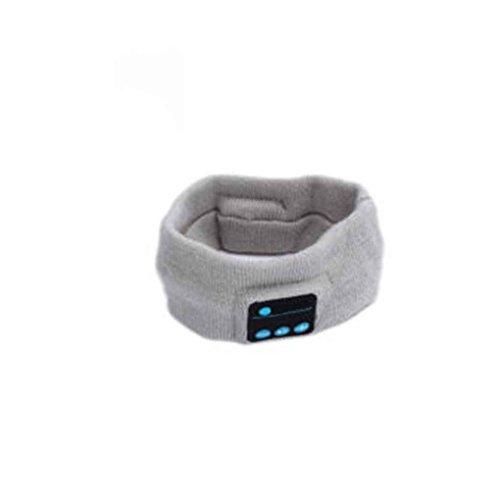 Provide The Best Unisex Sport Stirnband Wireless Bluetooth Headset Stereo-Kopfhörer mit Mikrofon Schlaf-Kopfstück (Mit Wireless-stirnband Mikrofon)