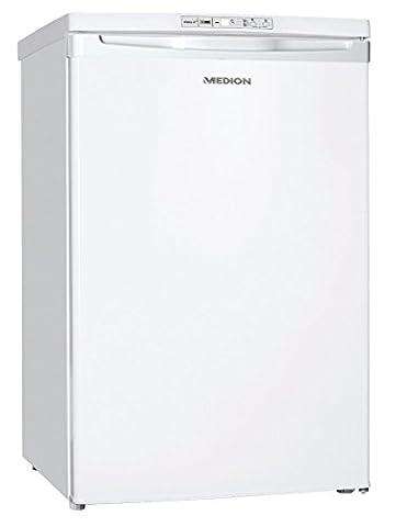 MEDION MD 37229 Gefrierschrank, Gesamt-Nutzinhalt 85L, Gefrierkapazität: 4kg/24 Std., elektronische