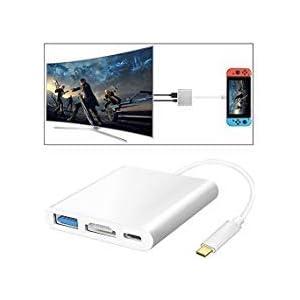 HDMI Typ C Hub Adapter für Nintendo Switch, Diyife HDMI Konverterkabel für Nintendo Switch
