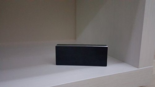 Xiaomi Square Box 10 Horas Bluetooth 4.0 Manos libres estéreo portátil Wireless Mini Bass altavoz Negro de aluminio para Xiaomi iPhone Android Teléfono