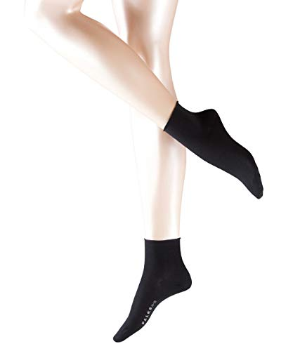 falke cotton touch FALKE Damen Socken 47539 Cotton Touch SS, Gr. 35-38, Schwarz (black 3009)