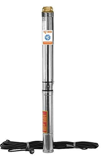 Sandverträgliche Tiefbrunnenpumpe 4' 9000l/h 230V 1,1 kW kW Brunnenpumpe Tauchpumpe