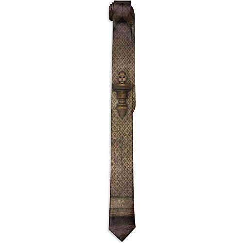 Corbata floral estampada para hombres